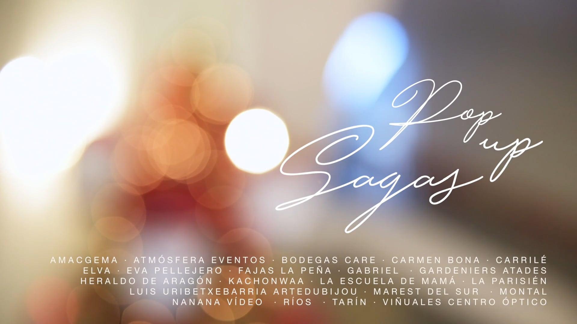 PopUpSagas Zaragoza - vídeo de NANANAVIDEO - pop up sagas