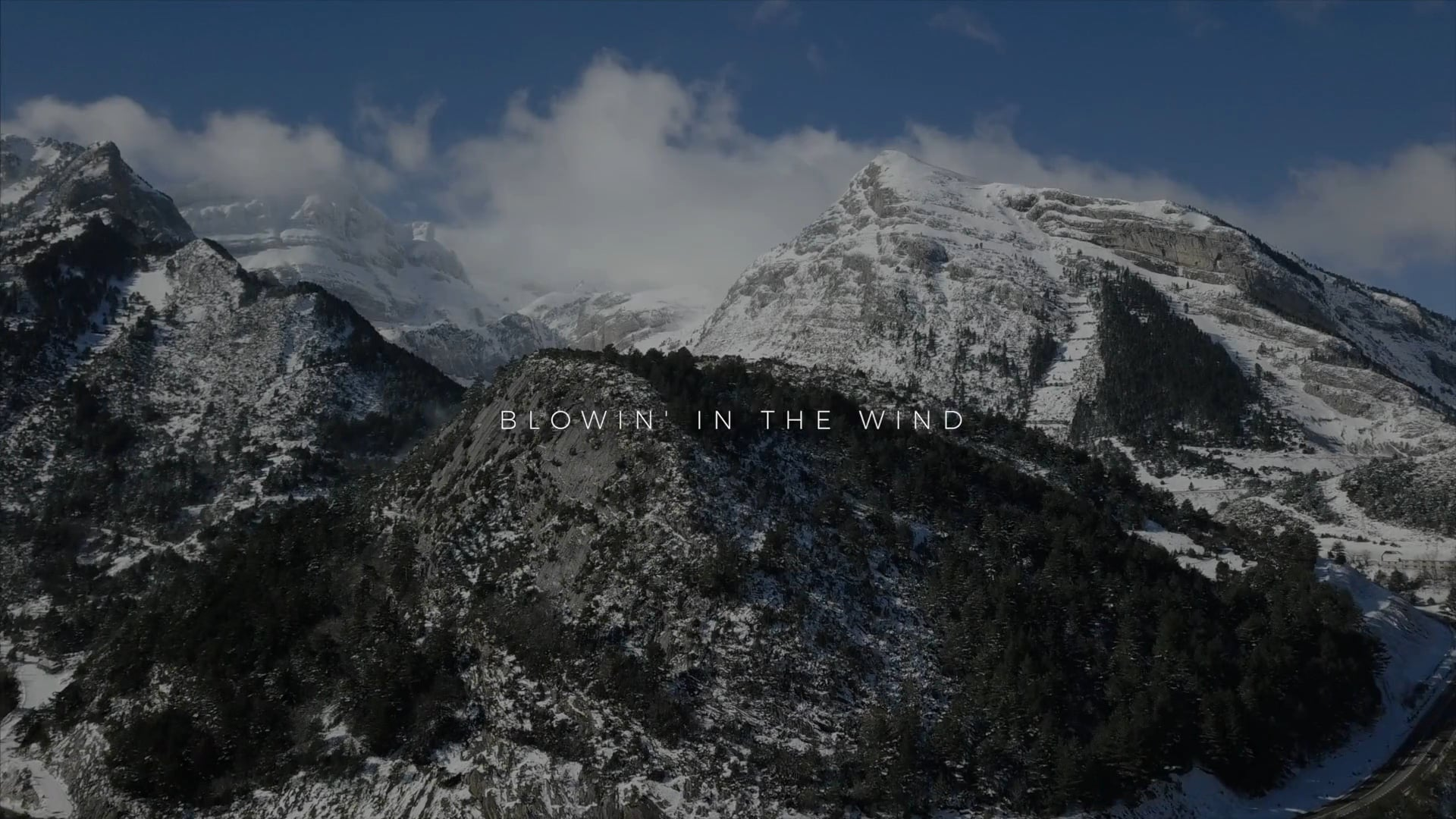 blowin in the wind - video drone pirineos
