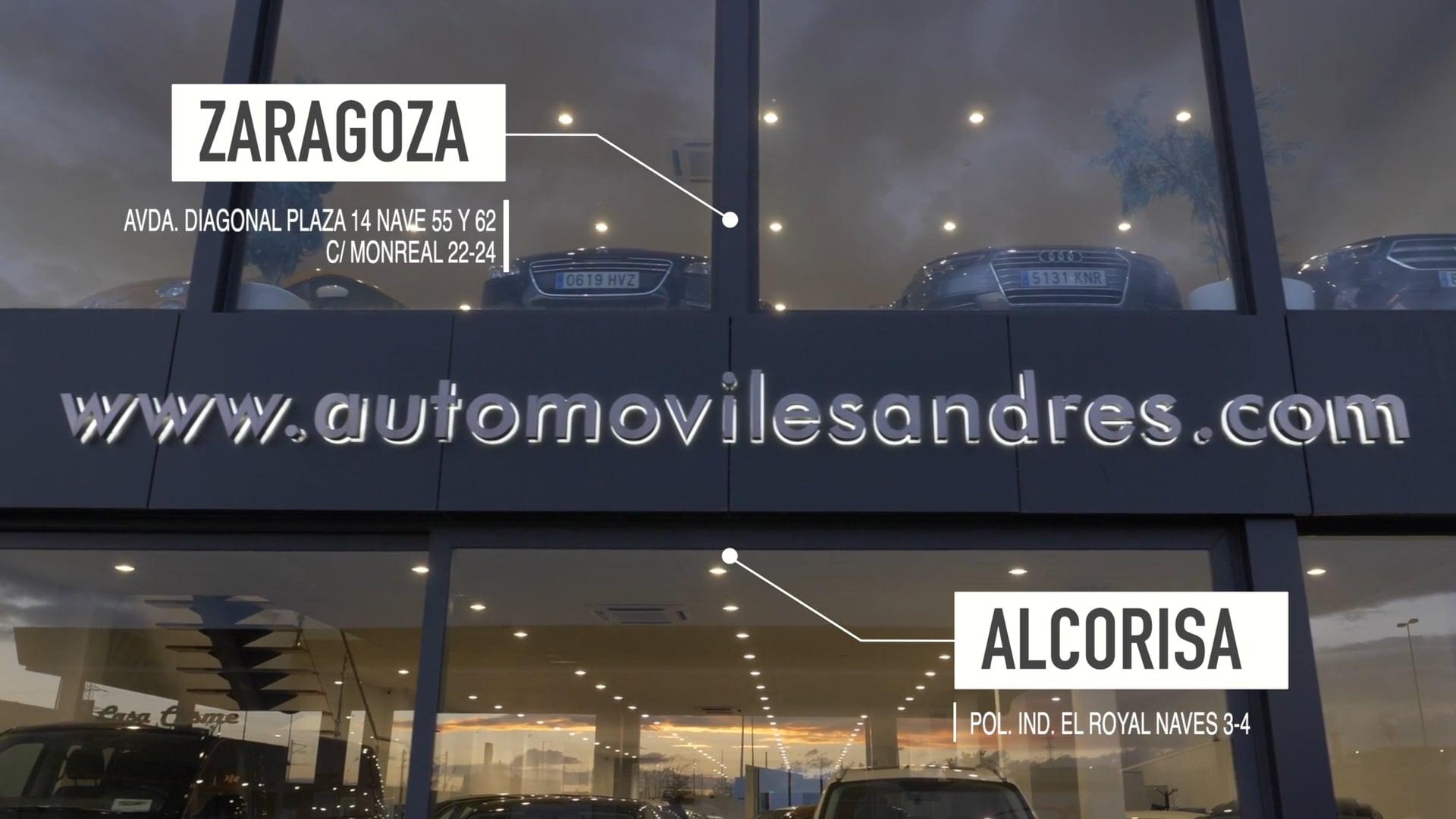 spot tv automóviles andrés zaragoza - video promocional zaragoza