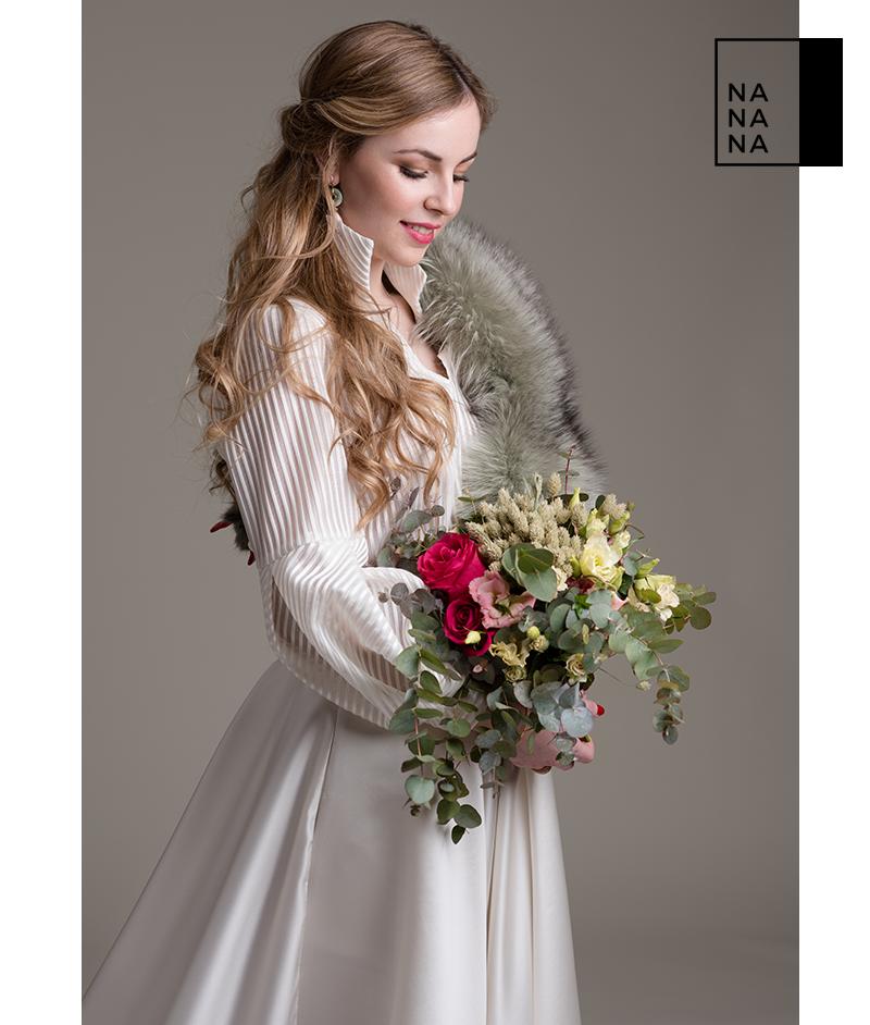 novias de invierno video de boda de invierno fotos de novias de invierno NANANAVIDEO